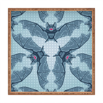 Chobopop Geometric Bat Pattern Square Tray