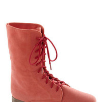 The Necessity of Style Boot in Salmon | ModCloth.com