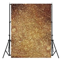 3x5ft Golden Glitters Photography Backgrounds Vinyl Studio Baby Photo Backdrops New Arrival