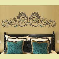Classical stencils, stencil design, reusable stencils for walls. Cutting edge Stencils
