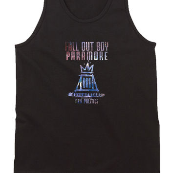 Fall Out Boy Paramore Monumentour Mens Tank Top