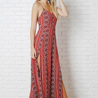 Augusta Side-Slit Maxi Dress