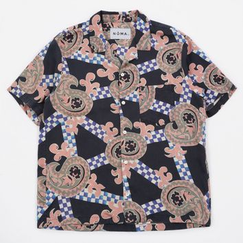 NOMA t.d. Summer Shirt - Checker Paisley/Black