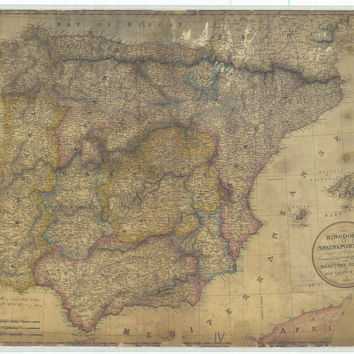 The Kingdoms Of Spain And Portugal