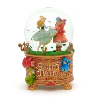 Sleeping Beauty Musical Snow Globe | Disney Store
