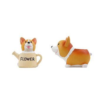 Corgi Small Plant Pot