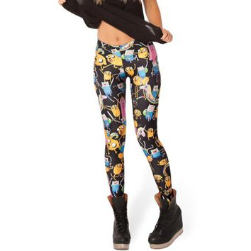 Legging Sexy 3D Longs Graphic Colourful Printed Slacks Women's Stretchy Skinny Leggings Lady Tattoo Pants New Wear Funky