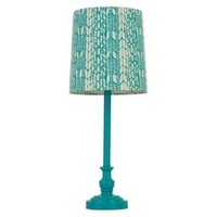 Xhilaration® Printed Table Lamp (Includes CFL Bulb)