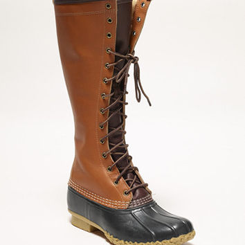 Signature Women's L.L.Bean Boots, 16 and quot; Shearling-Lined Colorblock: Footwear | Free Shipping at L.L.Bean