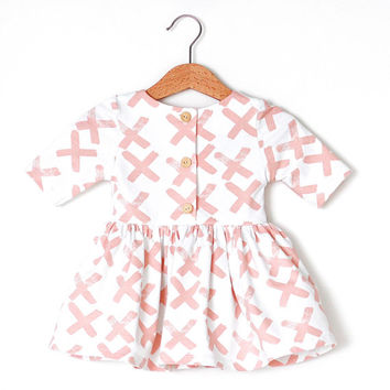 Pink X Organic Cotton Baby Dress