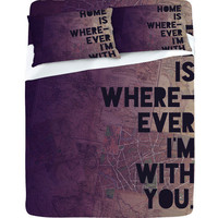 DENY Designs Home Accessories | Leah Flores With You Sheet Set