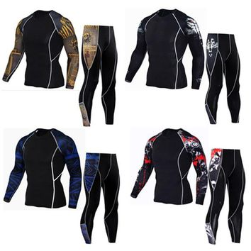 Mens base layer compression gym apparel base layer outerwear motocross