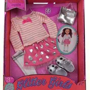 """Glitter Girls Deluxe Outfit Fits Most 14"""" Dolls Dazzling Spot The Shimmer"""