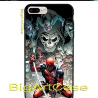 Best Favorite Deadpool poster art COVER CASE iPhone 6s/6s+7/7+8/8+,X and Samsung