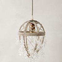 Ethereal Orchard Pendant by Anthropologie in Clear Size: One Size Necklaces