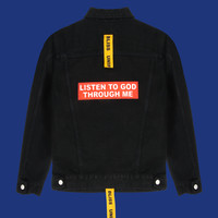 Listen To God Jacket