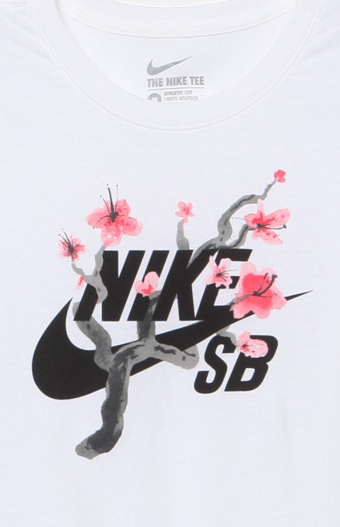 a0d80459 Nike SB QT Cherry Blossom T-Shirt at from PacSun