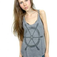 Nautical sailor racerback S/M/L