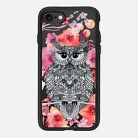 OWL loves FLOWERS by Monika Strigel iPhone 7 Hülle by Monika Strigel | Casetify