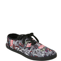 Marvel Group Comic Lace-Up Sneakers