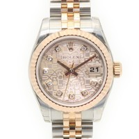 Rolex Datejust Watch Stainless Steel Automatic Pink 0028
