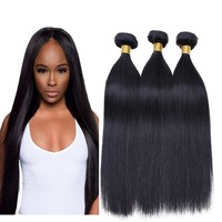 3 Bundles Straight Virgin Brazilian Hair