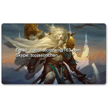 ONETOW Many Playmat Choices - Ajani Steadfast - MTG Board Game Mat Table Mat for Magical Mouse Mat the Gathering 60 x 35CM