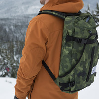 The Riding Pack - Green Camo | Poler Stuff