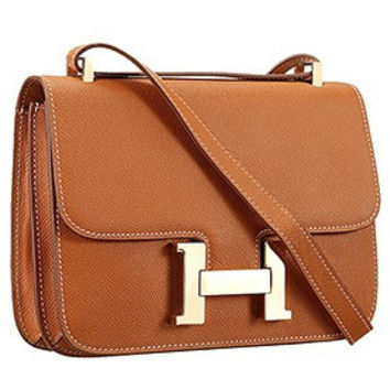 Hermes Constance Tan With Gold Hardware 608116