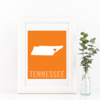 Tennessee Print