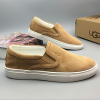 UGG Slip-On Fashion Flats Sneakers Sport Shoes