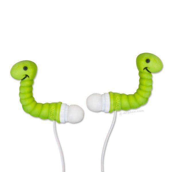 Ear Worms Ear Buds - Whimsical & Unique Gift Ideas for the Coolest Gift Givers