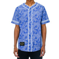 Vacation Baseball Jersey French Blue