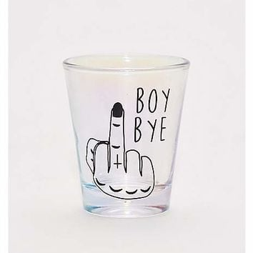 Boy Bye Shot Glass - 1.5 oz. - Spencer's