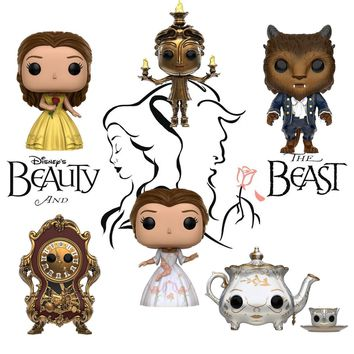 Funko Pop DN: Beauty & The Beast Beast 12318.19.20.21.11564.12473 Set of 6