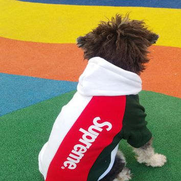 Spring and summer small dog pet clothing.