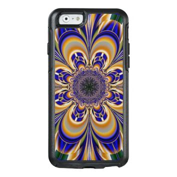 abstract flower pattern OtterBox iPhone 6/6s case