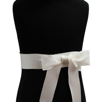 "1.5"" Grosgrain Satin Ribbon Sash by Lille Couture"
