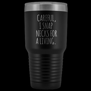 Funny Chiropractor Mug for Chiropractor Graduation Gifts Tumbler Mug Insulated Hot Cold Travel Coffee Cup 30oz BPA Free