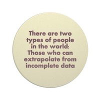Funny Extrapolate This Drink Coaster