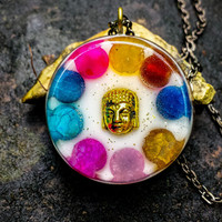 Orgonite Buddha Necklace + (Free Shipping In US)