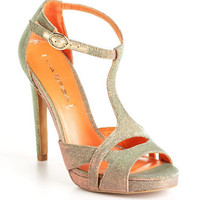 Pamela Metallic Open-Toe Sandals | Lord and Taylor