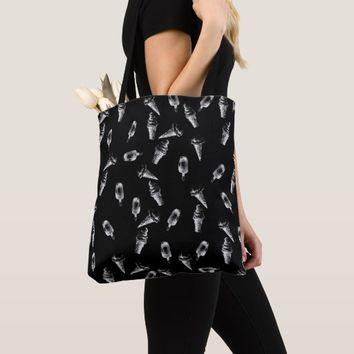 Ice Cream Pattern Tote Bag