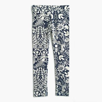 Girls' everyday leggings in mermaid floral : Girl full length | J.Crew