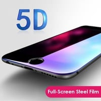 "Nenuka 5D (3nd Gen 3D 2nd Gen 4D) Full Screen Cover Tempered Glass For iPhone 6 6S 7 8 Plus Screen Protector Film On 4.7"" 5.5''"