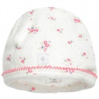 Baby Girls Pink Cotton Hat