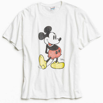Junk Food Mickey Washed Tee - Urban Outfitters