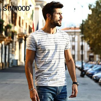 SIMWOOD Striped Fashion Vintage Breton Top T-shirt