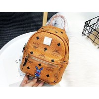 MCM 2018 Counter Your Beautiful Cute Mini Bunny Backpack F-AGG-CZDL Brown