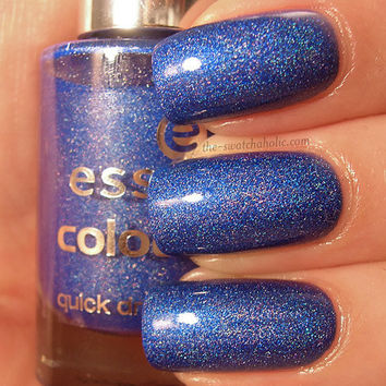 Franken of the day: Royal Blue ? Your Holo Highness and I am back! :) | The Swatchaholic . a blog about nail polish and makeup